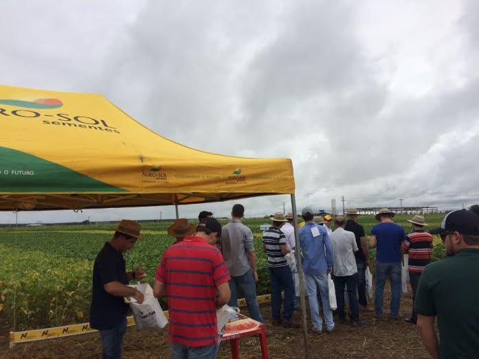 Agro-Sol Sementes participa de eventos em diferentes regiões e lança cultivares  2016/17