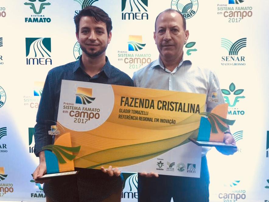 Agro-Sol é premiada como Referência Regional em Inovação pela Famato