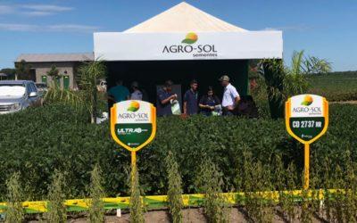 Agro-Sol apresenta áreas demonstrativas durante o Dinetec