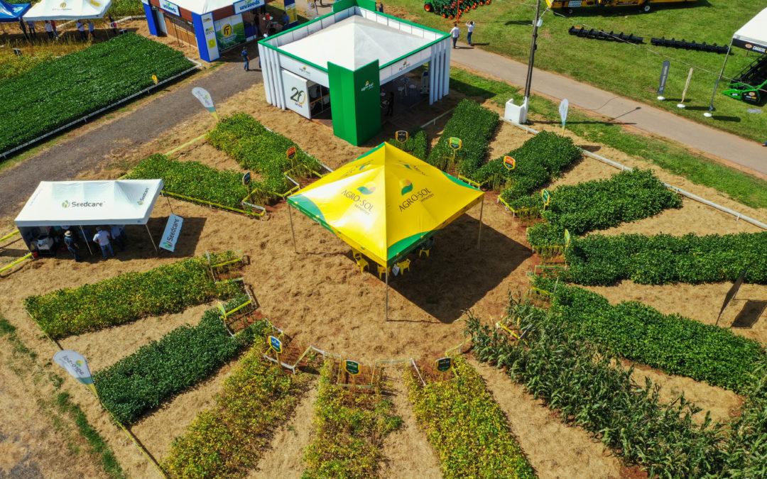 Inovação em área demonstrativa é destaque da Agro-Sol durante Show Safra