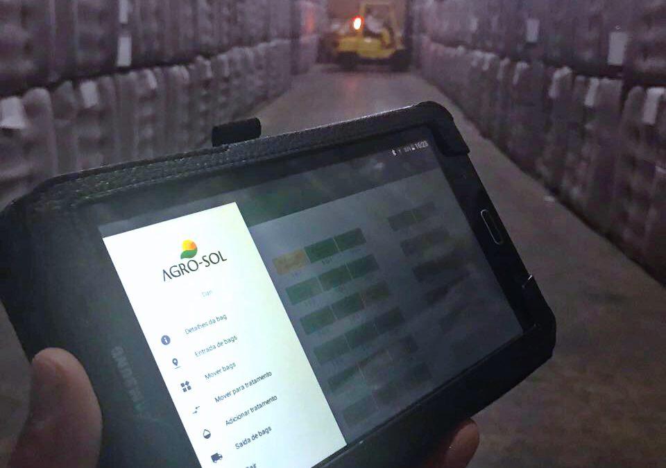 Aplicativo é criado para acompanhar qualidade das sementes da Fazenda Cristalina