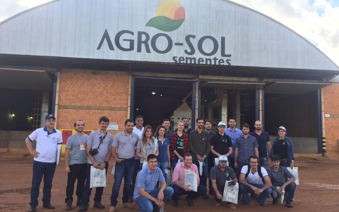 AgriHub visita Agro-Sol para entender demandas do negócio de sementes