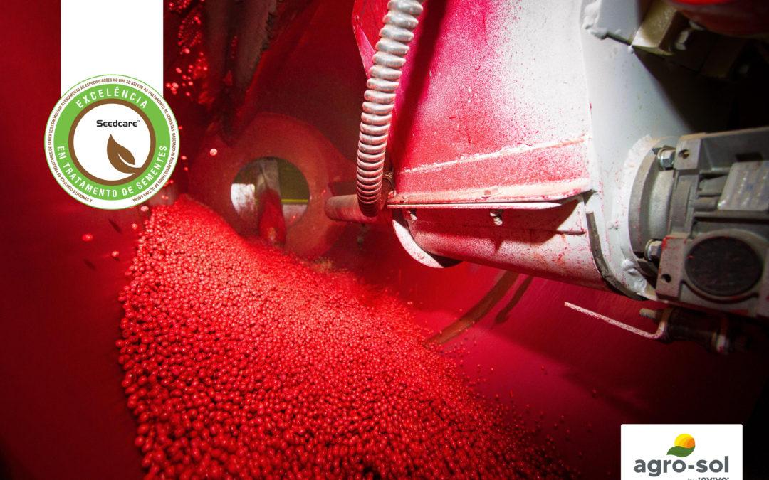Agro-Sol recebe selo de excelência em Tratamento de Sementes Industrial