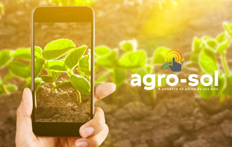 Aplicativo Agro-Sol Sementes: rastreabilidade, qualidade e informações completas sobre a semente na palma da mão.
