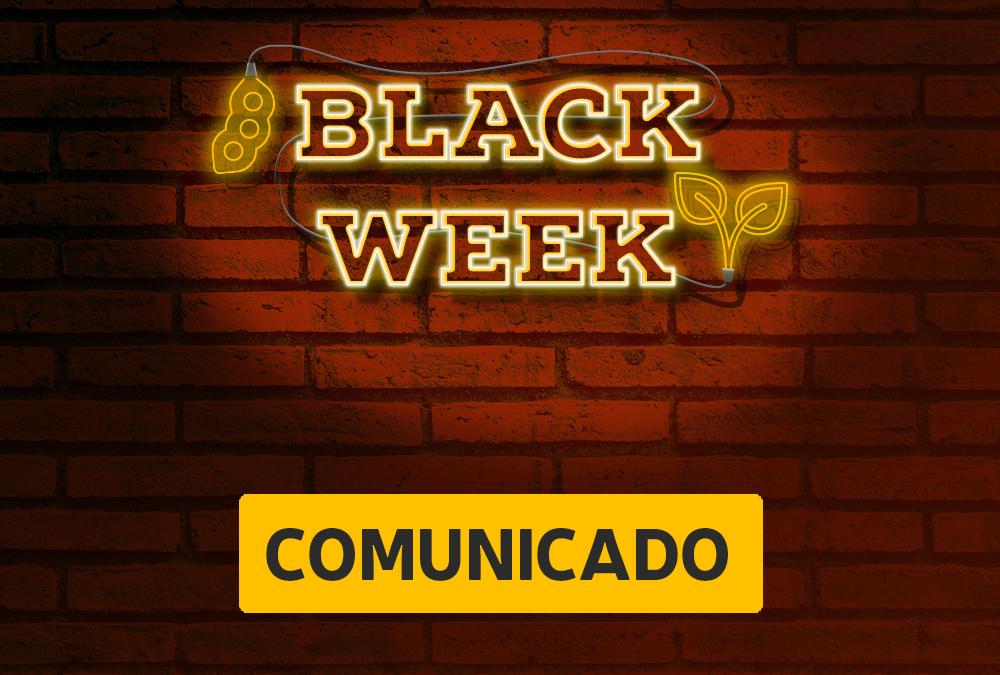 Comunicado: Premiação Black Week Agro-Sol