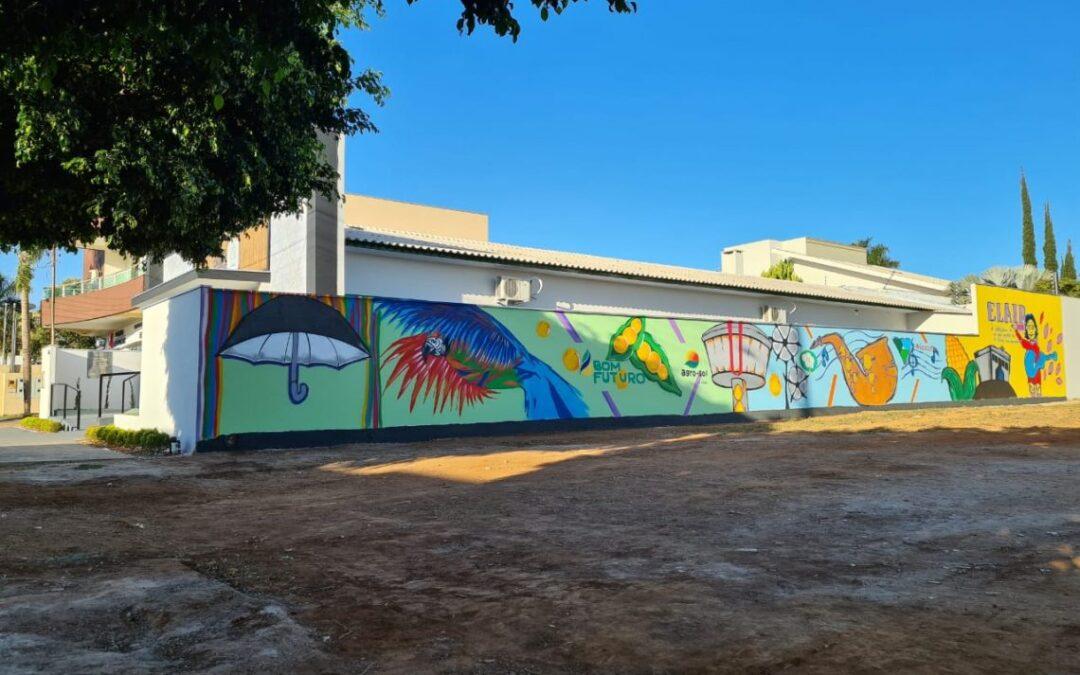 Agro-Sol integra mural da Cultura em Campo Verde e recebe homenagem